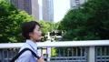 慢动作·女商人·走路·跑步时钟·万向节 41111296