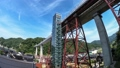 余部鉄橋의 시간 경과 동영상 가스미 아마 루베 철교의 미세 속도 촬영 빈 역 천공의 역 41159543