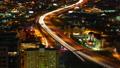 Timelapse, San Antonio, Texas expressways at night 41212171