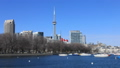 Timelapse of Toronto skyline on a clear day 41212240
