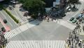 東京·澀谷爭奪交叉·頂視圖·時間流逝·傾斜 41212930