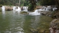 Sightseeing waterfall in the forest, north of Thai 41331004