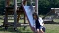滑り台 すべり台 公園の動画 41416937