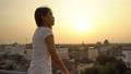 日落 夕阳 肖像 41423471