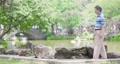 膝盖 年长 公园 41467385