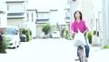 自転車 女性 41785976