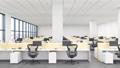 Large open plan office interior  41827728