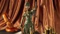 Antique statue of justice 41869316