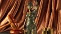 Antique statue of justice 41869350