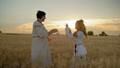 field, female, woman 41874772