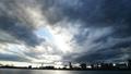 东京·黑暗的天空·时间流逝·东京湾·品川码头景观·向上倾斜 41946949