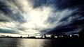 东京·黑暗的天空·时间流逝·东京湾·品川码头观赏·颜色分级 41946955