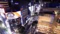 東京ナイトビュー 夕暮れの銀座、数寄屋橋 タイムラプス ズームイン 42139900