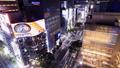黄昏的东京夜视图银座,Sekiyabashi时间间隔平底锅 42139902