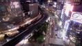 黄昏的东京夜视有乐町,银座时间间隔变焦 42139998