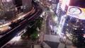 黄昏的东京夜视图Yurakucho,银座时间间隔平底锅 42139999