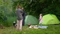 family, tent, outdoor 42210608