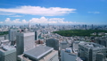 Beautiful Tokyo landscape · Time lapse · Blue sky and green · summer · Shinjuku desires · Fully situated in central Tokyo · narrow 42238949