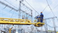 electrician crane worker 42285282
