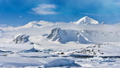 Antarctica Nature. Snow-capped mountain range 42301897