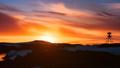 Beautiful cloudy dramatic sky with sun rising up 42301905