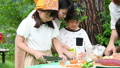 キャンプ 夏休み 子供の動画 42422240