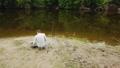 つり 川岸 釣り人の動画 42515884