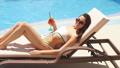 女性 水着 プールの動画 42638360