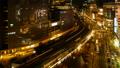 从晚上风景的东京银座有乐町时间间隔夜风景大城市平底锅动态看的都市风景 42645077
