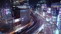 东京银座有乐町夜景时间流逝向上倾斜 42645141