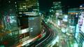 东京银座有乐町夜景时间流逝颜色分级 42645148