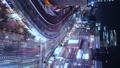 垂直材料东京银座有乐町夜景时间流逝 42645149