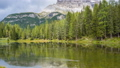 Lake in the mountains, Dolomites, Italy 42650212