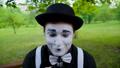 パントマイム 煙 スモークの動画 42703633
