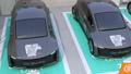 カーシェアリング専用駐車場に駐車している電気自動車 42787906