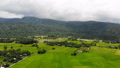 Drone shot aerial view scenic landscape of agricul 42824221