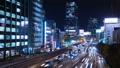 東京夜景·澀谷·時間流逝·資本高速擁擠麵包 42881350