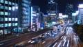 東京夜景·澀谷·時間流逝·資本高速擁堵狹窄 42881352