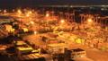 配送基地東京青海集裝箱碼頭黃昏點亮時間推移變焦 42940026