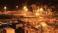 配送基地东京奥米集装箱码头夜景时间推移缩小 42940102