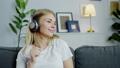 female, headphones, listen 42958251