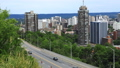 Timelapse amilton, Canada expressway with skyline 42961461
