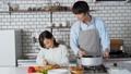父亲和girlfood厨房盘 42983844