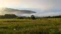Time lapse of mountain landscape with fog 42997462
