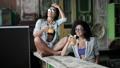 Girls drinking cocktails 43022989
