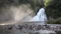 夏の法体の滝と光芒 43065577