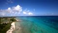 ドローン映像:来間島の長間浜の空撮 43086016