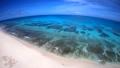 ドローン映像:来間島の長間浜の空撮 43086036