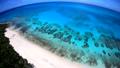 ドローン映像:来間島の長間浜の空撮 43086037