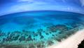 ドローン映像:来間島の長間浜の空撮 43086038